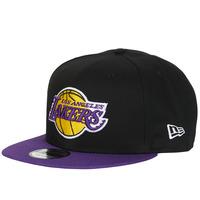 Textilní doplňky Kšiltovky New-Era NBA 9FIFTY LOS ANGELES LAKERS Černá / Fialová