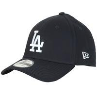 Textilní doplňky Kšiltovky New-Era LEAGUE BASIC 39THIRTY LOS ANGELES DODGERS Černá / Bílá