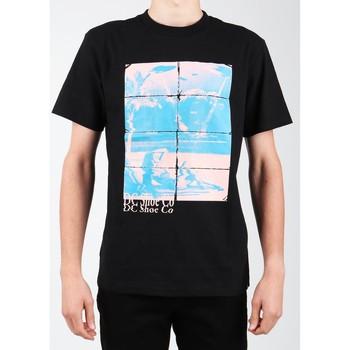 Textil Muži Trička s krátkým rukávem DC Shoes DC EDYZT03746-KVJ0 black