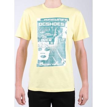 Textil Muži Trička s krátkým rukávem DC Shoes DC SEDYZT03769-YZL0 yellow