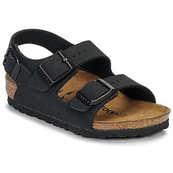 Boty Chlapecké Sandály Birkenstock MILANO Černá