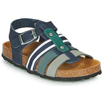 Boty Chlapecké Sandály André TRISTAN Tmavě modrá