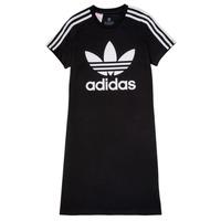 Textil Dívčí Krátké šaty adidas Originals SALOME Černá