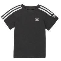 Textil Chlapecké Trička s krátkým rukávem adidas Originals MINACHE Černá