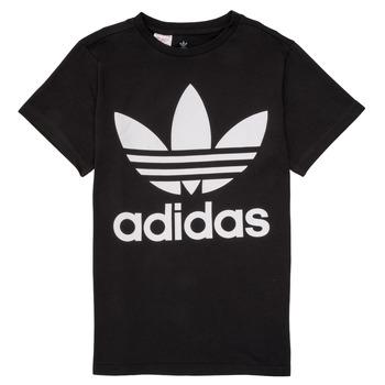 Textil Děti Trička s krátkým rukávem adidas Originals MAXENCE Černá