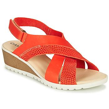 Boty Ženy Sandály Damart MAYLO Červená