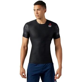 Textil Muži Trička s krátkým rukávem Reebok Sport Crossfit RC Compression Černé