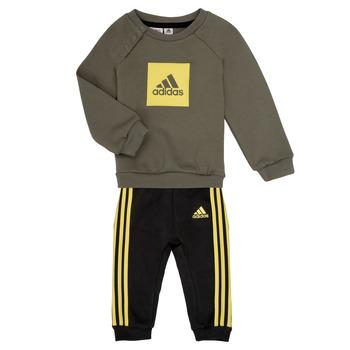 Textil Chlapecké Set adidas Performance MERLO Šedá / Žlutá