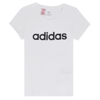 Textil Dívčí Trička s krátkým rukávem adidas Performance NELIZO Bílá