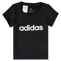 Textil Dívčí Trička s krátkým rukávem adidas Performance NATRAZ Černá
