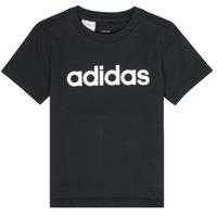 Textil Chlapecké Trička s krátkým rukávem adidas Performance NATAZO Černá