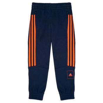 Textil Chlapecké Teplákové kalhoty adidas Performance PERIOLRI Tmavě modrá