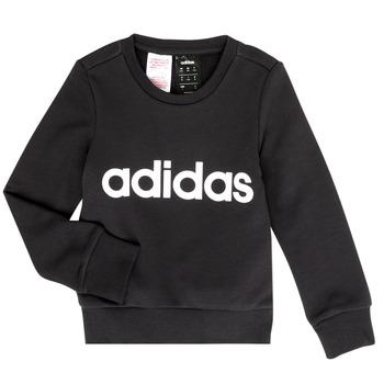 Textil Dívčí Mikiny adidas Performance MED Černá