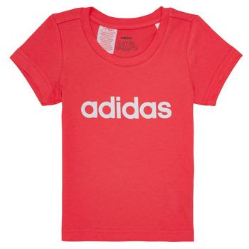 Textil Dívčí Trička s krátkým rukávem adidas Performance MAKIT Růžová