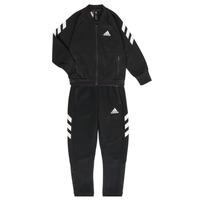 Textil Chlapecké Teplákové soupravy adidas Performance MARKEL Černá