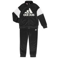 Textil Chlapecké Teplákové soupravy adidas Performance AMAURY Černá