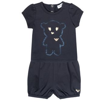 Textil Dívčí Set Emporio Armani Aiden Tmavě modrá