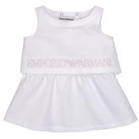 Textil Dívčí Krátké šaty Emporio Armani Alberic Bílá