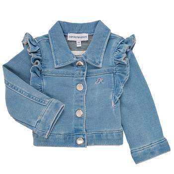 Textil Dívčí Saka / Blejzry Emporio Armani Aldric Modrá