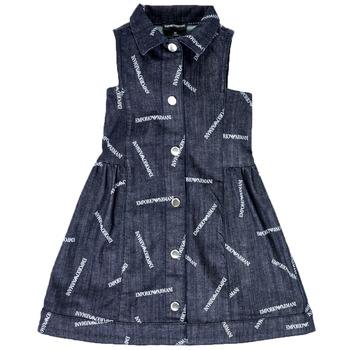 Textil Dívčí Krátké šaty Emporio Armani Andy Modrá