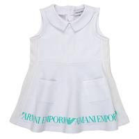 Textil Dívčí Krátké šaty Emporio Armani Apollinaire Bílá