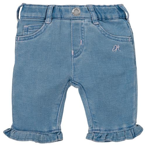 Textil Dívčí Kapsáčové kalhoty Emporio Armani Arthur Modrá