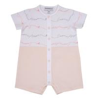 Textil Dívčí Overaly / Kalhoty s laclem Emporio Armani Adem Růžová