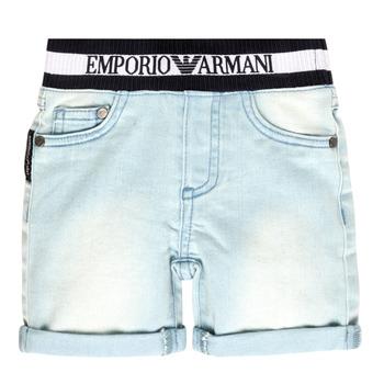 Textil Chlapecké Kraťasy / Bermudy Emporio Armani Ariel Modrá