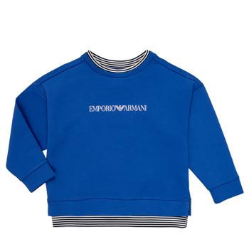 Textil Chlapecké Mikiny Emporio Armani Aurèle Modrá