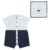 Textil Chlapecké Overaly / Kalhoty s laclem Emporio Armani Edouard Tmavě modrá