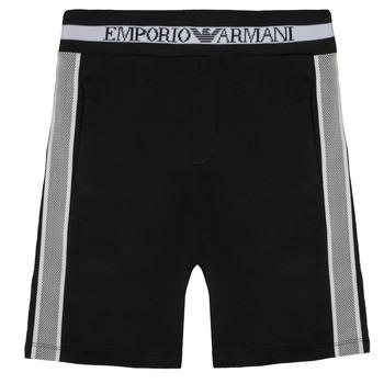 Textil Chlapecké Kraťasy / Bermudy Emporio Armani Aubert Černá