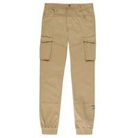 Textil Chlapecké Cargo trousers  Name it NITBAMGO Béžová