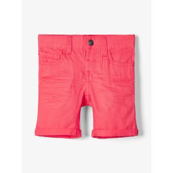 Textil Chlapecké Kraťasy / Bermudy Name it NMMSOFUS TWIISKA Červená