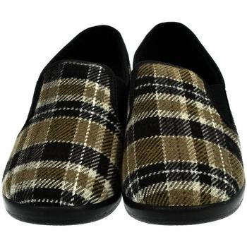 Boty Ženy Papuče Mjartan Dámske papuče  AGÁTA 9 hnedá