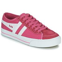Boty Ženy Nízké tenisky Gola QUOTA II Růžová / Bílá