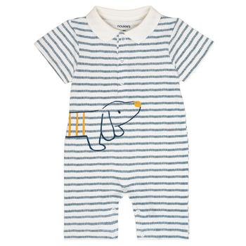 Textil Chlapecké Overaly / Kalhoty s laclem Noukie's IMRAN Bílá