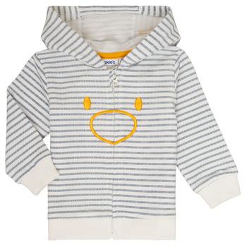 Textil Chlapecké Mikiny Noukie's CAM Bílá