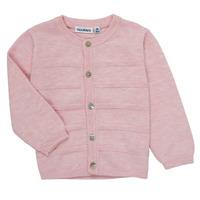 Textil Dívčí Svetry / Svetry se zapínáním Noukie's NOAM Růžová