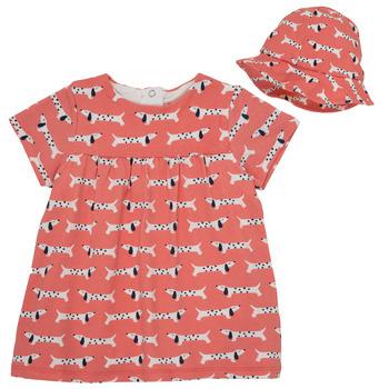Textil Dívčí Krátké šaty Noukie's KENZO Růžová