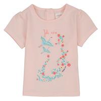 Textil Dívčí Trička s krátkým rukávem Carrément Beau NOLAN Růžová