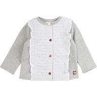 Textil Dívčí Svetry / Svetry se zapínáním Carrément Beau ISA Šedá
