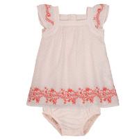Textil Dívčí Krátké šaty Carrément Beau SAMY Růžová