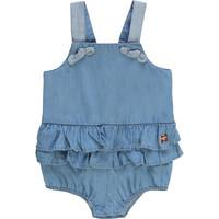 Textil Dívčí Overaly / Kalhoty s laclem Carrément Beau KYAN Modrá