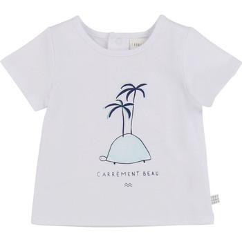 Textil Chlapecké Trička s krátkým rukávem Carrément Beau MARTINEZ Bílá