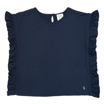 Textil Dívčí Trička s krátkým rukávem Carrément Beau KAMILLIA Modrá