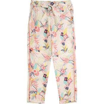 Textil Dívčí Kapsáčové kalhoty Carrément Beau WILLIAM Modrá