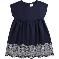 Textil Dívčí Krátké šaty Carrément Beau LISE Modrá