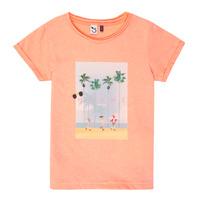 Textil Dívčí Trička s krátkým rukávem 3 Pommes LEA Oranžová