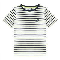 Textil Chlapecké Trička s krátkým rukávem 3 Pommes NORDINE Žlutá