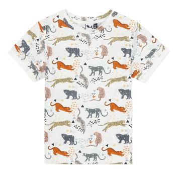Textil Chlapecké Trička s krátkým rukávem 3 Pommes ARIANE Oranžová
